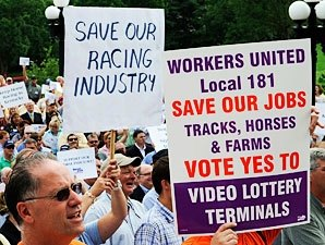 KY House Drops Racetrack VLTs in Senate's Lap