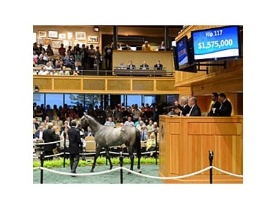 Wait No More, a daughter of Medaglia d'Oro topped the sale, bringing $1,575,000 during the second session.