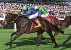 Lord Shanakill in the Dubai Duty Free Mill Reef Stakes.