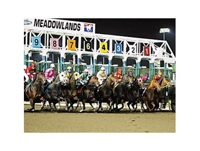 Meadowlands is in line to receive part of the $90- million purse subsidy approved by the New Jersey legislature.