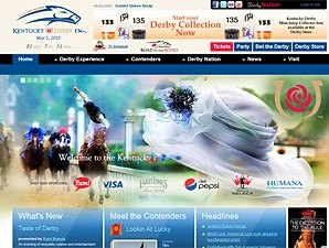 Kentuckyderby.com Web Site Launched