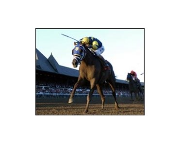 Travers winner Flower Alley, bred by late breeder George Brunacini.