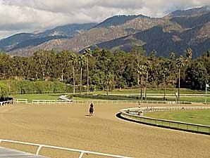 On-Track Figures Steady at Santa Anita