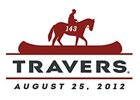 Travers Logo Depicts Horse, Jockey on Canoe