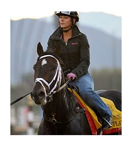 Pool Play at Santa Anita.
