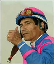 Pincay to Sue Santa Anita