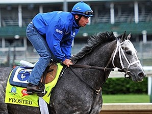 Frosted at Churchill Downs 4.30.15.