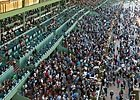 Santa Anita on opening day of their 2011/2012 Winter/Spring meet.