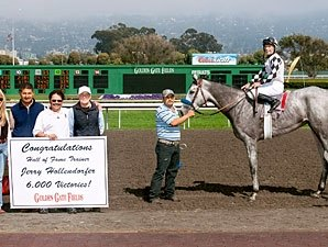 Hollendorfer Clicks With Baze for 6,000th Win