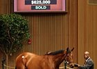 Wilburn topped the 2010 Keeneland April sale of 2-year-olds in training with his $625,000 price.