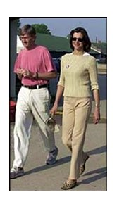 "Wendie Malick (right) of the TV show ""Just Shoot Me"" made an appearance on the Churchill backside Friday."