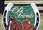 This sign, created by Tonia Marynell, pays tribute to Exceller, Ferdinand, and Old Friends.