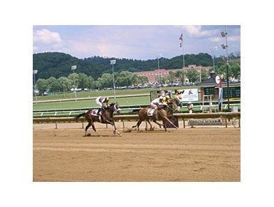 Mountaineer racetrack