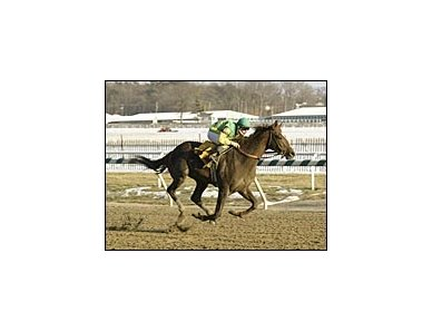 Capac, won an allowance race at Laurel Park in convincing fashion.