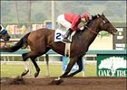 McCann's Mojave wins the California Cup Classic on the final day of the 2005 Oak Tree at Santa Anita.