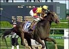 Fusaichi Pegasus, winning the 2000 Kentucky Derby.