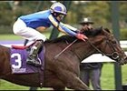 Johannesburg, winning the 2001 Breeders' Cup Juvenile.