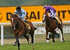 "Harbinger romps in the King George VI and Queen Elizabeth Stakes.<br><a target=""blank"" href=""http://www.bloodhorse.com/horse-racing/photo-store?ref=http%3A%2F%2Fpictopia.com%2Fperl%2Fgal%3Fprovider_id%3D368%26ptp_photo_id%3D9116738%26ref%3Dstory"">Order This Photo</a>"