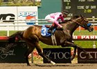 "Cost of Freedom skips to the Winners' Circle in the Los Angeles Handicap.<br><a target=""blank"" href=""http://www.bloodhorse.com/horse-racing/photo-store?ref=http%3A%2F%2Fpictopia.com%2Fperl%2Fgal%3Fprovider_id%3D368%26ptp_photo_id%3D9053755%26ref%3Dstory"">Order This Photo</a>"