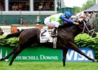 "Phola comes home strong in the Churchill Downs Turf Mile. <br><a target=""blank"" href=""http://www.bloodhorse.com/horse-racing/photo-store?ref=http%3A%2F%2Fpictopia.com%2Fperl%2Fgal%3Fprovider_id%3D368%26ptp_photo_id%3D8937760%26ref%3Dstory"">Order This Photo</a>"
