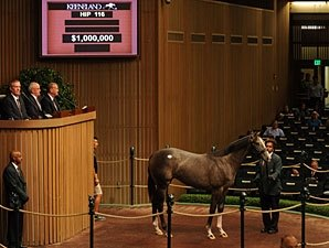 Unbridled's Song Filly Brings $1 Million