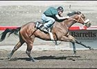 Call Zoll, had the fastest quarter mile time during Barretts training workouts Sunday.