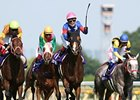 Showa Modern captured the the Yasuda Kinen in a race-record time at Tokyo Racecourse.