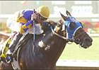 Kela carries Tyler Baze to victory in the Pat O'Brien Breeders' Cup Handicap, Sunday at Del Mar.