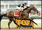 Indian Charlie, shown winning the 1998 Santa Anita Derby.