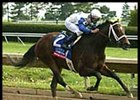 Proud Citizen, winning the 2002 Coolmore Lexington Stakes at Keeneland.