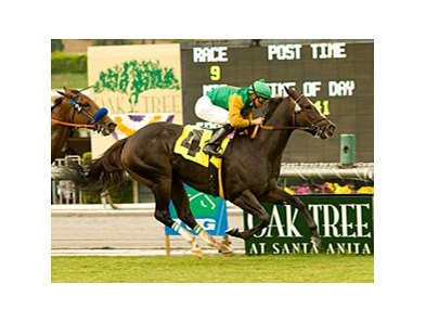 The Oak Tree at Santa Anita meet begins September 30.