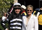 Casey Chavez and mother Penny Gardiner at Keeneland.