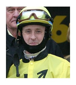Justin Vitek last rode at Turfway Park in February 2009.