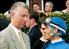 Trainer Todd Pletcher (left) and jockey John Velazquez (right) leading earners of 2004.