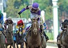 I'll Have Another and Mario Gutierrez take the 2012 Kentucky Derby.