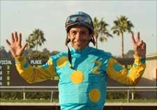 Debutante Win Gives Espinoza Del Mar Record