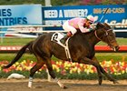"Zardana flies home in the Bayakoa under Victor Espinoza.<br><a target=""blank"" href=""http://www.bloodhorse.com/horse-racing/photo-store?ref=http%3A%2F%2Fpictopia.com%2Fperl%2Fgal%3Fprovider_id%3D368%26ptp_photo_id%3D8675989%26ref%3Dstory"">Order This Photo</a>"
