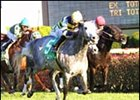 Dr. Kashnikow defeats favored Tijiyr in the River City Handicap.