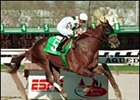 Congaree, winning the 2001 Wood Memorial.