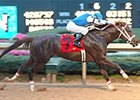 Smarty Jones looks sharp in Rebel win.