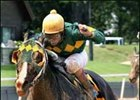 Admiral's Arch overcame traffic problems to win the Northern Spur BC,  Saturday at Oaklawn Park.