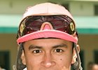 Jockey Michael Martinez