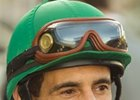 John Velazquez, 2009 winner of the Santa Anita George Woolf Memorial Jockey Award.