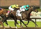 Spellbinder and jockey Martin Pedroza  win the San Antonio Handicap, Sunday at Santa Anita.