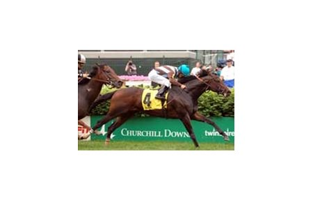 "Duveen, with Mark Guidry up, wins the Crown Royal American Turf.<br><a target=""blank"" href=""http://www.bloodhorse.com/horse-racing/photo-store?ref=http%3A%2F%2Fpictopia.com%2Fperl%2Fgal%3Fprovider_id%3D368%26ptp_photo_id%3D1125891%26ref%3Dstory"">Order This Photo</a>"