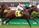 "Crown Royal American Turf winner Duveen seeks 4th consecutive victory in the Jefferson Cup.<br><a target=""blank"" href=""http://www.bloodhorse.com/horse-racing/photo-store?ref=http%3A%2F%2Fpictopia.com%2Fperl%2Fgal%3Fprovider_id%3D368%26ptp_photo_id%3D1125891%26ref%3Dstory"">Order This Photo</a>"