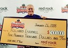 Richard Goodall defeated 276 Thoroughbred racing handicappers to capture the ninth Daily Racing Form/NTRA National Handicapping Championship.