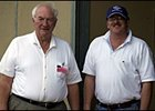 Trainer Allen Jerkens and son, Jimmy, worked their Breeders' Cup entries on Tuesday morning.
