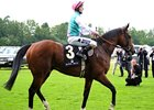 Frankel in the Queen Anne Stakes