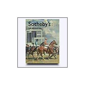 Catalogue cover for Sotheby's sale featuring artwork owned by NYRA.